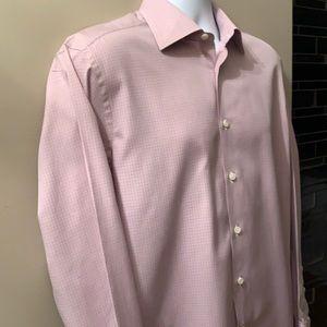 CANALI Button Down Shirt. Size Italian 40. 15 3/4
